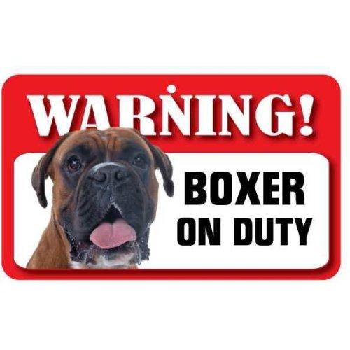 Boxer Pet Sign