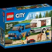 60117 Van And Caravan