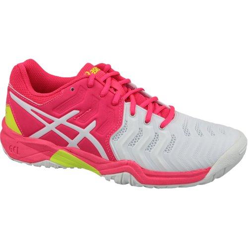 Asics Gel-Resolution 7 GS C700Y-116 Kids White tennis shoes