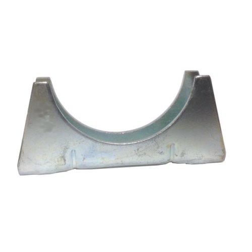 Universal Exhaust pipe cradle 76 mm pipe - Zinc Plated Mild Steel