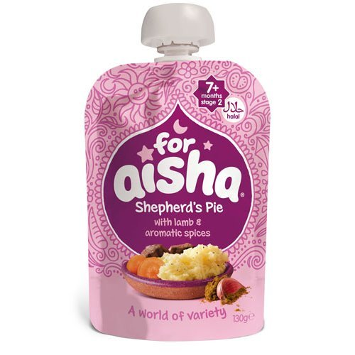 For Aisha Shepherds Pie With Lamb & Aromatic Spices | 130g x 6