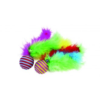 Happy Pet Carnival Ball Rattle Cat Toy