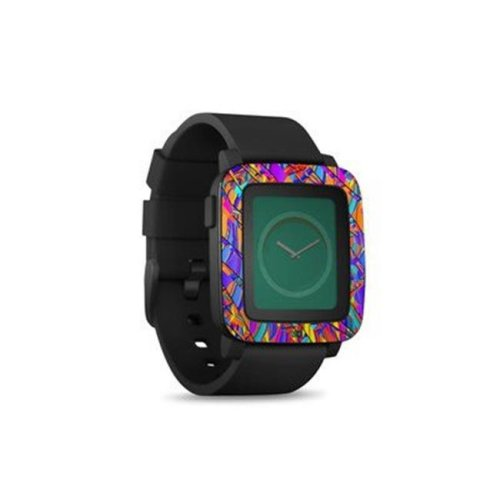 DecalGirl PSWT-CLRMANIA Pebble Time Smart Watch Skin - Colormania