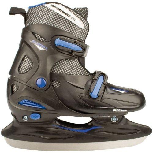 Nijdam Ice Hockey Skates Size 38-41 3024-ZWB-38-41