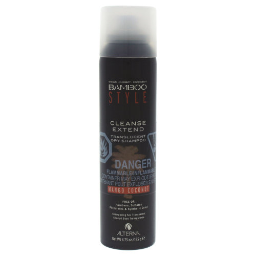 Bamboo Style Cleanse Extend Translucent Dry Shampoo - Mango Coconut by Alterna for Unisex - 4.75 oz Dry Shampoo