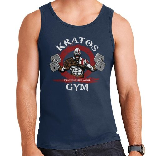 Kratos Gym Training Like A God Of War Men's Vest