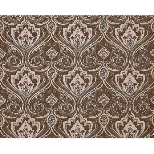 EDEM 993-36 non-woven baroque wallpaper XXL damask brown cream glitter 10.65 sqm