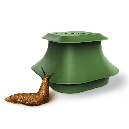 SnailX Slug Trap | Intelligent and Strong Pest Killer for Effective Garden Protection | Slug and Snail Control with Bait (Lure), Safe for Pets |...