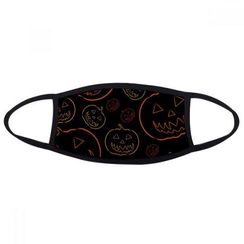 Pumpkin Tiling Pattern Halloween Face Anti-dust Mask Anti Cold Maske Gift
