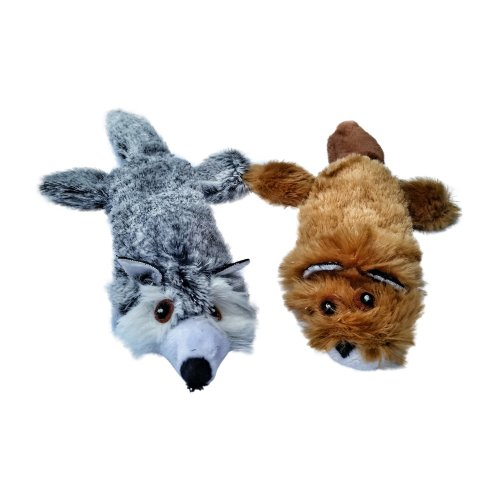Cat Toys with Catnip - Soft Crinkle Cat Toy - by 3Cats (1 Set of 2)