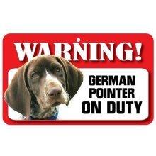 German Pointer Pet Sign