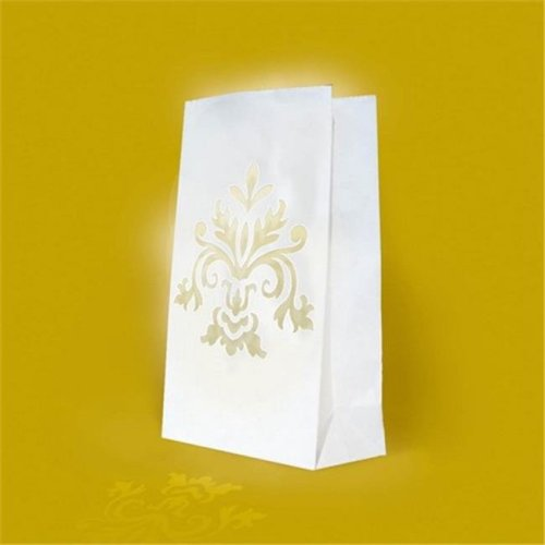 Amscan 379276 Wedding Bouquet Luminary Bags - Pack of 144