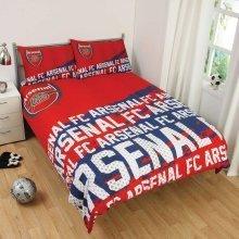 Arsenal FC Impact Double Duvet Cover Set