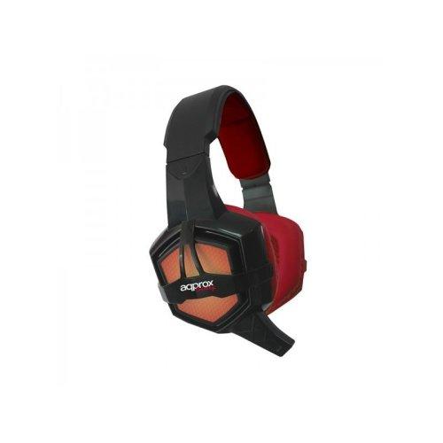 Approx Appgh10 Binaural Head-band Black,red Headset