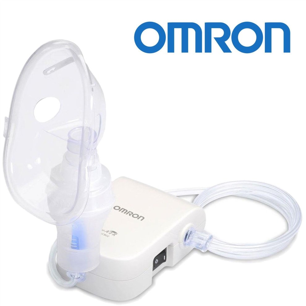 ... Omron NE-C803 Quiet Compressor Adult Child Lower Airways Respitory Nebulizer NEW - 2 ...