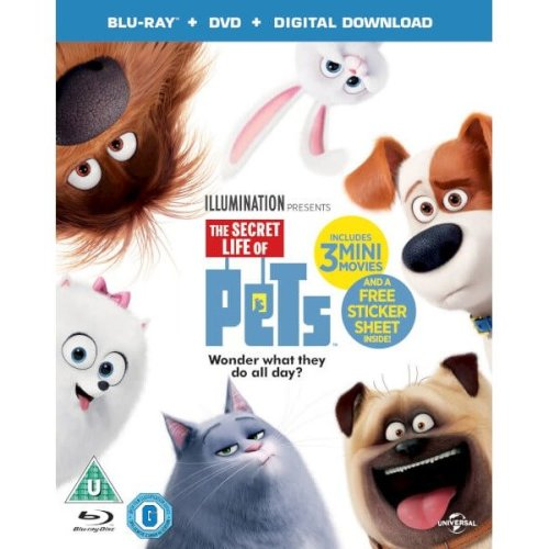 The Secret Life of Pets (includes Uv Copy)