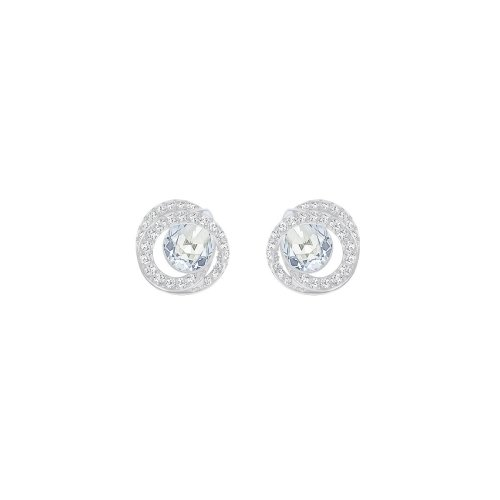 Swarovski Generation Pierced Earrings - Teal - 5289026