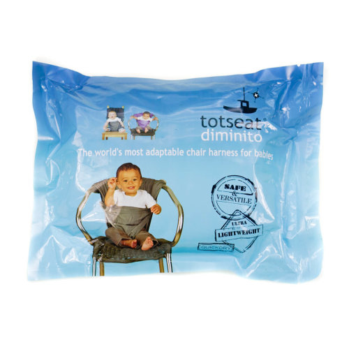 Totseat Lightweight Adjustable Foldable Baby Chair Harness Blue
