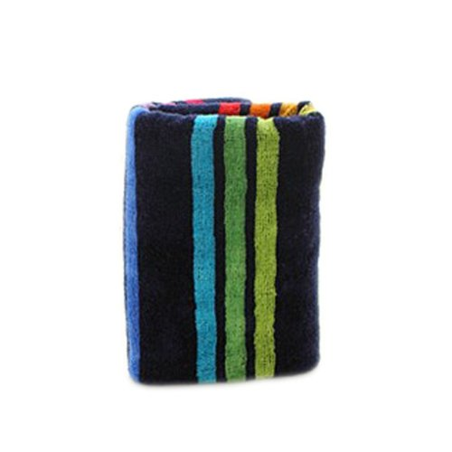 Colorful Stripe Pattern Cotton Hair Drying Towel