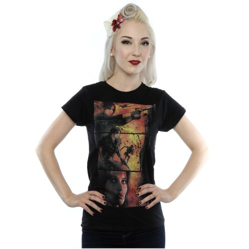 Star Wars Women's Rogue One Jyn Comic Strip T-Shirt
