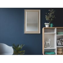 Wall Mirror - Gold and Silver - Framed -  CASSIS