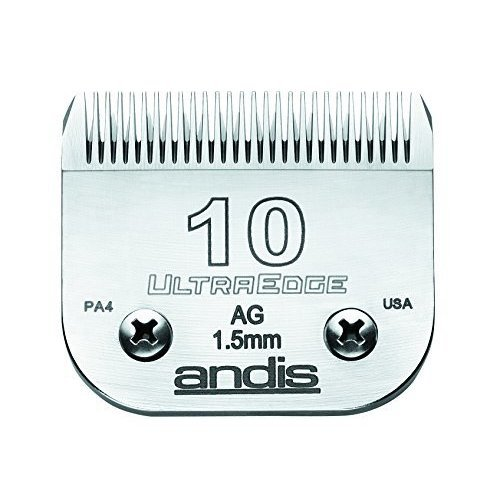 Andis Ultraedge No.10 Blade - 10 Size 15mm Head -  andis 10 ultraedge size 15mm head