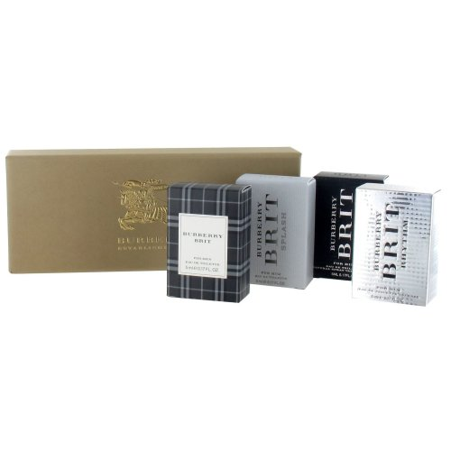 Burberry Miniature Gift Set for Men - Brit Rhythm Intense 5ml Eau de Toilette