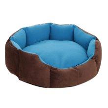 Octagonal Detachable Small And Medium Sized Pet Kennel, Dark Blue