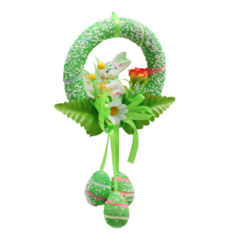 Easter Decoration Children's Party Decorations Easter Eggs Decorations[Green]