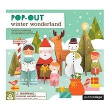 Petit Collage Pop-Out, Winter Wonderland