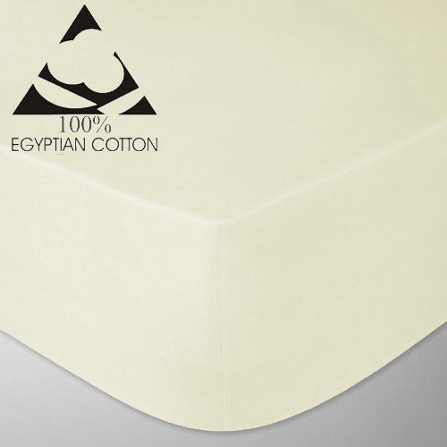 Egyptian Cotton 400 Thread Count Fitted Bed Sheets