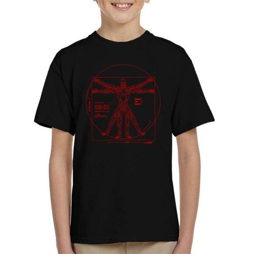 Terminator Vitruvian T800 Kid's T-Shirt