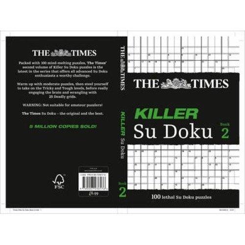 The Times Killer Su Doku 2