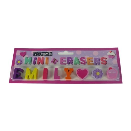 Childrens Mini Erasers - Emily