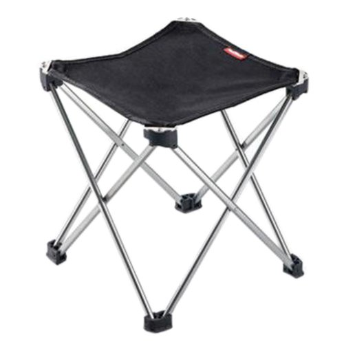 Portable Folding Chair Stool Camping Chairs Fishing Train Travel Paint Outdoor, Grand Black