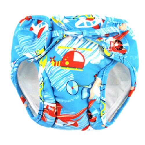 Reusable Swim Diaper Adjustable Absorbent Shower Diapers for Baby Toddler, A07