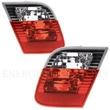 Bmw 3 Series E46 Saloon 2001-2005 Rear Tail Lights 1 Pair O/s & N/s