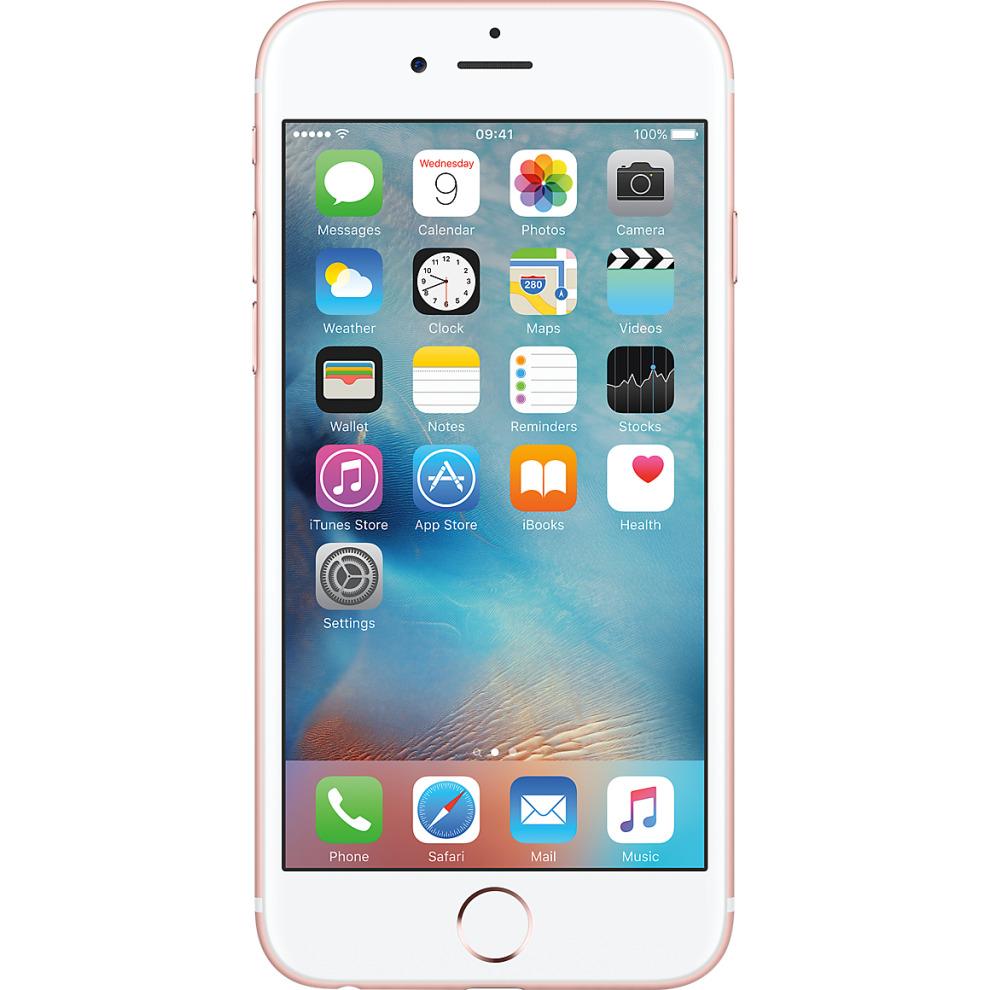 O2, 16GB Apple iPhone 6s Rose Gold