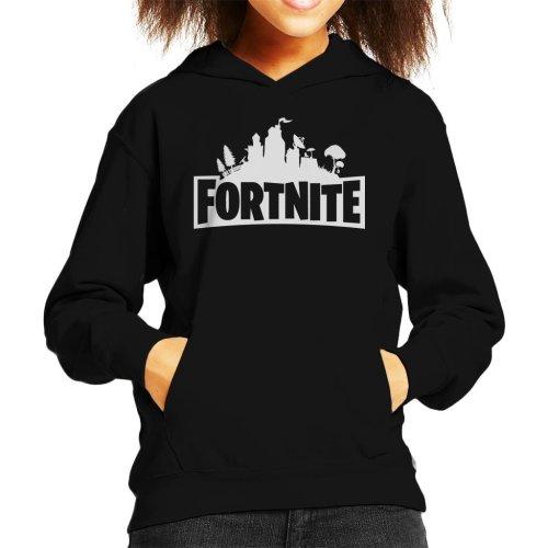 Fortnite Logo Kid's Hooded Sweatshirt