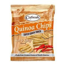 Cofresh Eat Real Quinoa Hot & Spicy Chips 80g