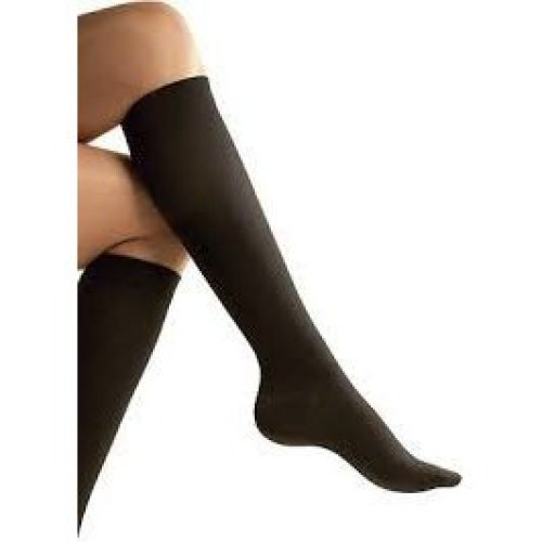 Unisex Compression Socks Relief For Aching Feet Varicose Veins Dvt Flight - -  sure travel flight socks small size 35