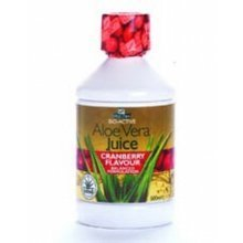Aloe Pura Aloe Vera Juice Max Strength Cranberry 1ltr