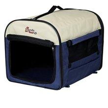 Trixie 39702 Pet Carrier 2 40 40 55cm Dark Blue / Beige - 55cm -  40 trixie 2 dark blue beige 39702 pet carrier 55 cm