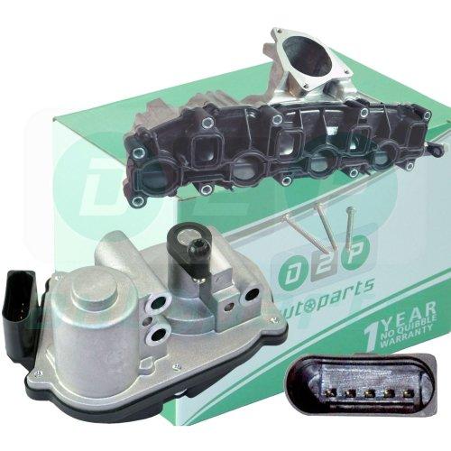 INTAKE MANIFOLD WITH MOTOR FOR AUDI VW SEAT SKODA 2.0 TDI 03L129711E, 03L129086