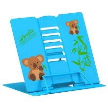 Book Stand Book Holder Adjustable Foldable Book Stand Cute [D]