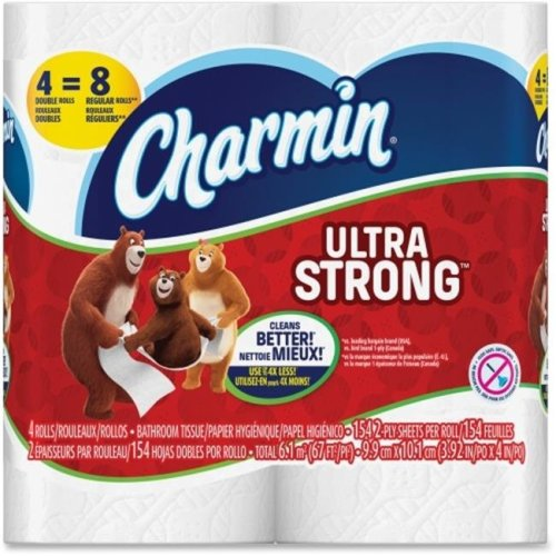 Merchandise 5595010 Charmin Ultra String 4 Roll Double Toilet Paper