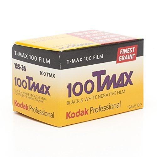 Kodak Professional 100 Tmax Black and White Negative Film ISO 100 35mm 36 Exposures 853 2848