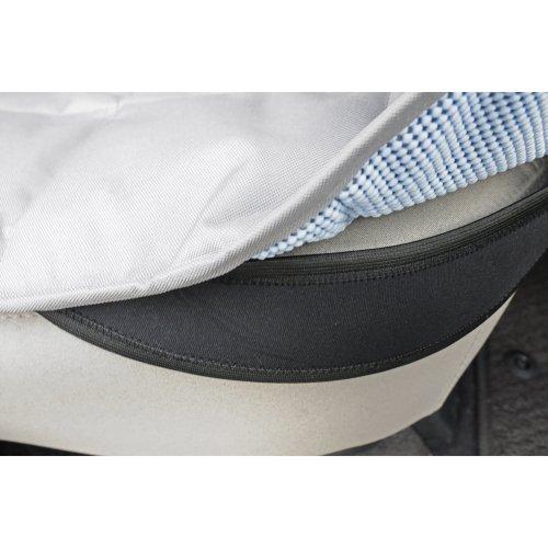 "Petego Rear Car Seat Protector Hammock 52""X64""-Gray"