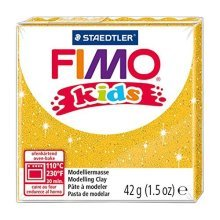 Staedtler - Fimo Kids 42g, Glitter Gold