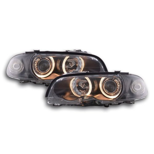 Angel Eye headlight  BMW serie 3 Coupe type E46 Year 98-01 black